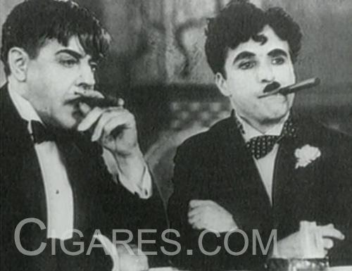 Charlie Chaplin Cigare