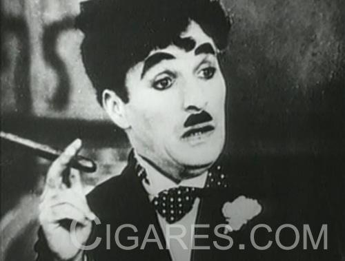 Image du cigare avec Charlie Chaplin