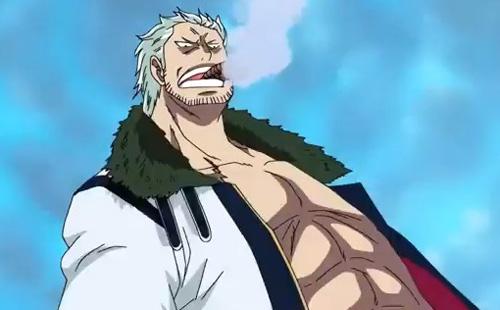 Image du cigare dans le manga One Piece