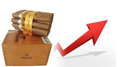Progression de 8% des ventes de cigares cubains en 2013