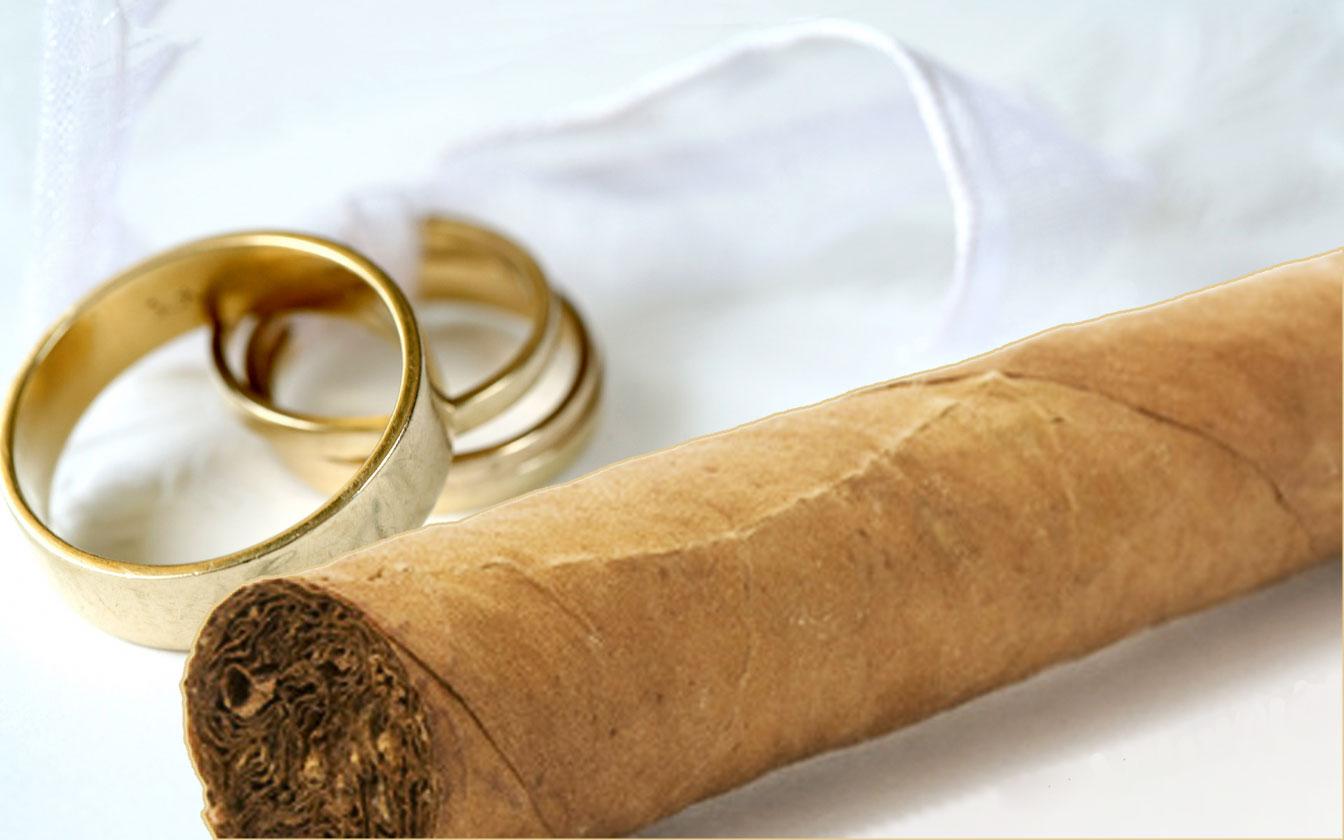 mariage cigare
