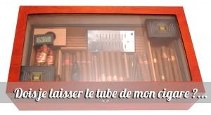 conserver cigare en tube