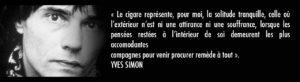 citation cigare yves simon