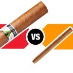 Différences entre cigare et cigarillo