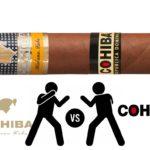 Les marques identiques de cigares cubains et dominicains