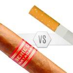 Différences entre les cigares et les cigarettes