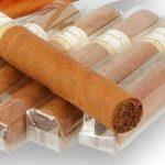 Emballage cellophane des cigares