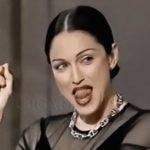 femme cigare madonna