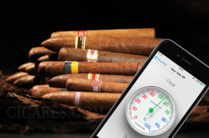 temperature hygrometrie cigare
