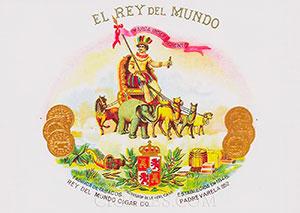 cigares el rey del mundo logo