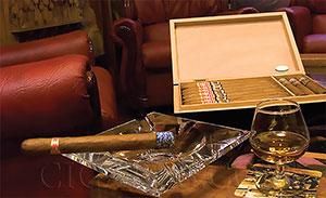 Fumer des cigares cubains