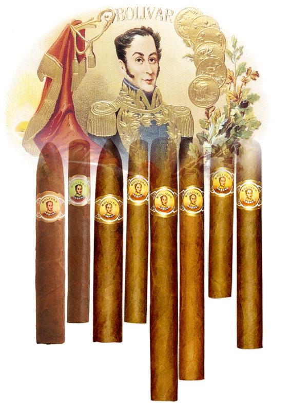 Les différents cigares Bolivar