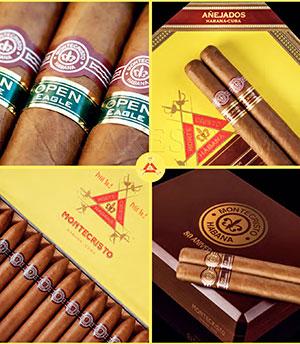 cigares Montecristo et logo